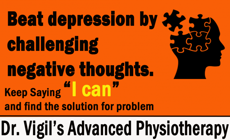 Beat Depression Tips By Dr. Vigil's Advanced Physiotherapy