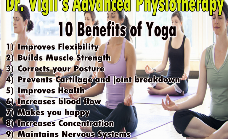10 Benefits of Yoga Exercises