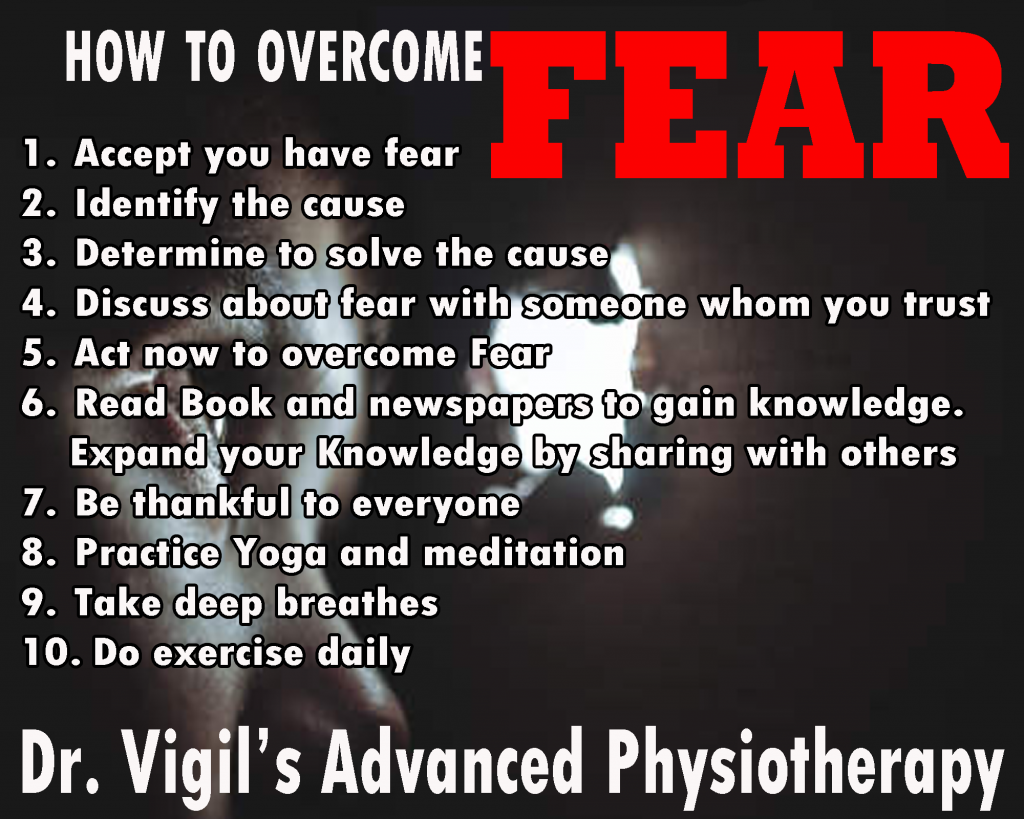 How to overcome fear 55