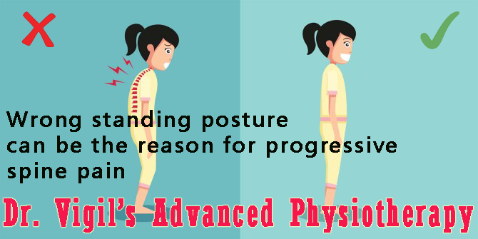 Standing Posture is Reason for Progressive Spine Pain