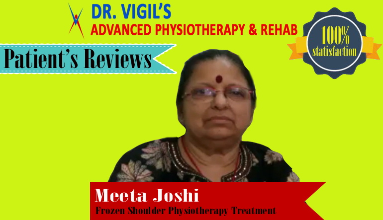 Meeta Joshi Frozen shoulder Physiotherapy Treatment