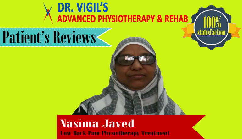 Nasima Javed Low Back Pain Physiotherapy Treatment