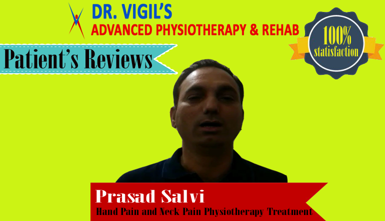 Prasad Salvi Hand Pain and Neck Pain