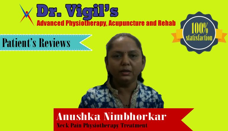 Anushka Nimbhorkar Neck Pain Review