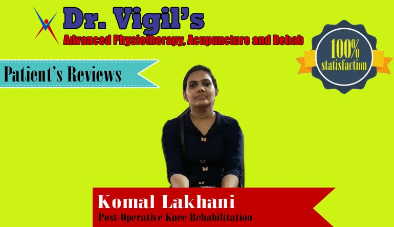Komal Lakhani Post-Operative Knee Rehabilitation