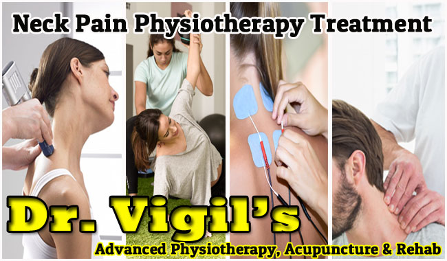 Dr. Vigil's Neck Pain Physiotherapy Treatment